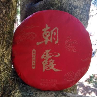 普洱茶老熟茶永德忙肺古树熟茶饼200克/片 1提5片1公斤280元/提