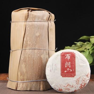 10饼/提布朗山普洱熟茶2斤,包邮促销!