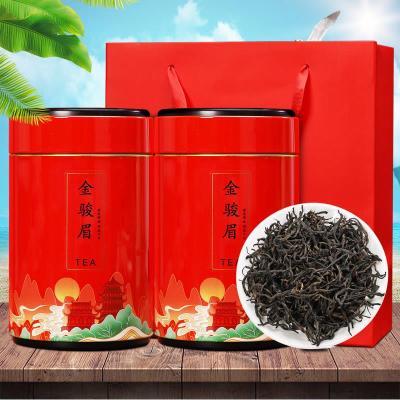 2020新茶正山小种红茶特级金骏眉红茶特级春茶礼盒罐装