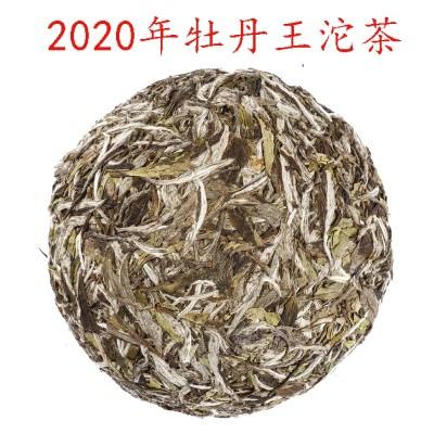 厂家直销福鼎白茶2020年头春高山纯日晒白牡丹沱茶250g一件代发