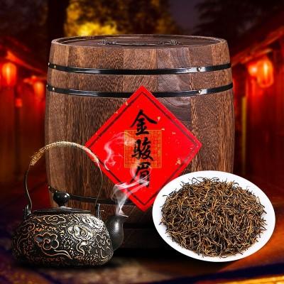 】武夷金俊眉蜜香型金骏眉红茶品质新茶散装茶叶礼盒木桶装500g一斤