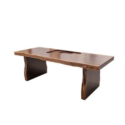 新中式实木办公室 家用桌台180*(70_80)7cm