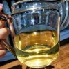 2017年春茶布朗山生普357克茶汤纯厚甘甜,霸气茶香挂杯且持久,