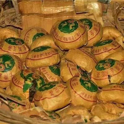 1989年中茶'鷄馬沱'稀缺绝版,100克/沱,5沱卖!