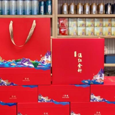 凤庆大金针一套500克每芽一都是芽头粗壮肥大干茶麦芽香糖味浓郁