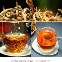 新茶云南滇红特级红茶叶浓香型金丝滇红茶蜜香罐装红茶茶叶