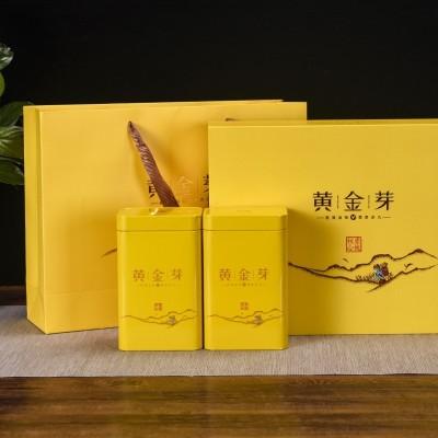 送礼年货2020年正宗黄金芽茶叶礼盒装250新茶安吉白茶特级黄金芽