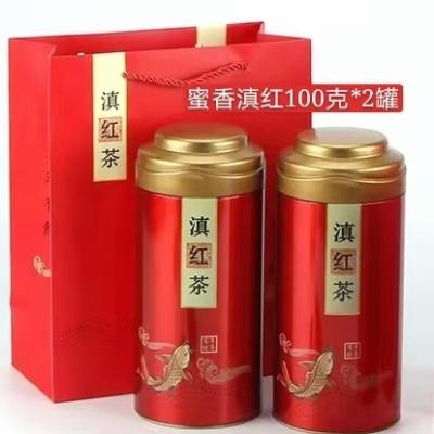 正宗凤庆大叶种高蜜香特级滇红100克*2罐礼盒装限量节前特价放送