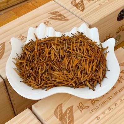 云南凤庆金针满满一箱装,红茶中的王者,遍体金绒,茶汤红润蜜香浓郁