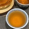 2002年健身沱生茶,条索均匀,汤色透亮,茶气足,茶底嫩度极好。