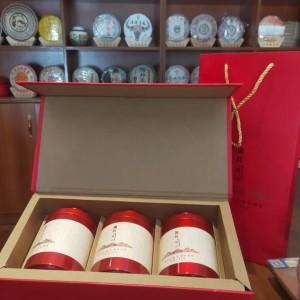 红茶礼盒装 🎁古树红100克 大金针100克 金螺100克