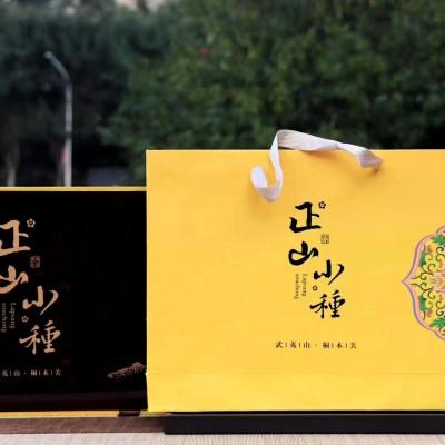 正山小种礼盒装一套500克,红茶的鼻祖,条形均匀,黝黑分明,高香浓郁