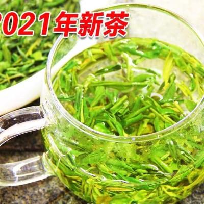 2021年新茶叶安吉白茶茶片500g高品质珍稀白茶碎片绿茶春茶明前茶