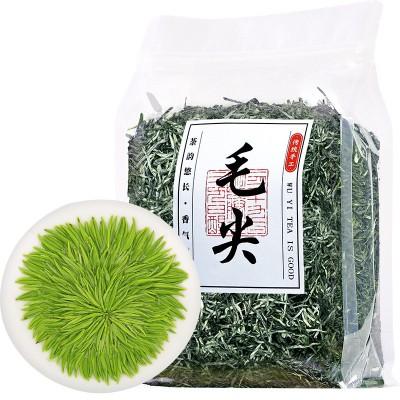 新茶毛尖绿茶茶叶信阳春茶批发明前黄山绿茶浓香袋装250g包邮