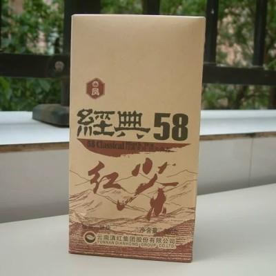 凤牌特级滇红茶正宗云南凤庆浓香型经典58养胃茶红茶380g送礼长辈