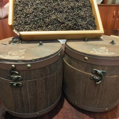 云南普洱茶八十年代宫廷级熟普散料   云南纯干仓   细芽多500克