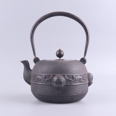手工蜡模老铁壶尺寸D16×H21容量:1200ml 铸铁