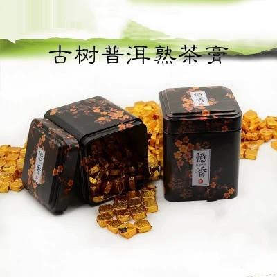 云南勐海古树5-10年陈熟普洱茶浓缩熟茶散茶膏200g罐装