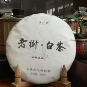 云南大叶种白茶2019年老树白茶360克一饼