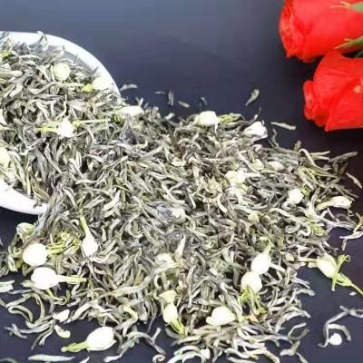 茉莉花茶2020新茶特级特种浓香型飘雪类茉莉金丝花茶茶叶散装