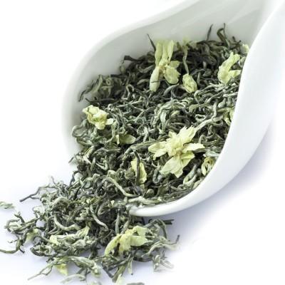 飘雪2021新茶四川茉莉 花茶茶叶浓香型 散装茶叶500g