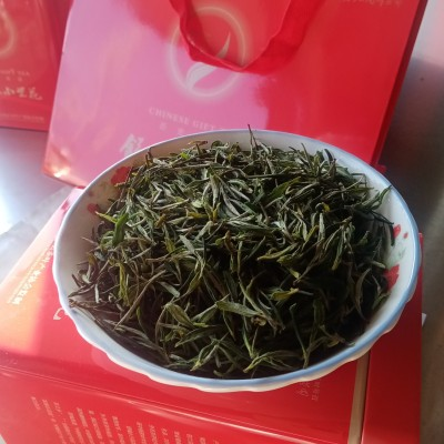 舒城小兰花,高山有机绿茶,明前头采,六安市。舒城小兰花茶叶,250克