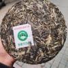 2021年云南普洱茶班章大白菜357克有机生态茶王饼古树春尖青饼