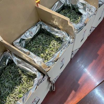 福鼎白茶荒野银针500克1箱,花香浓郁,口感甘甜 ,天然生晒,质量很好
