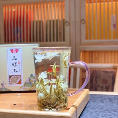 极品茉莉玉螺花茶,香气浓郁 ,回甘甜润,耐泡,性价比高