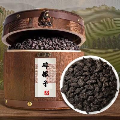 碎银子熟茶糯香茶化石糯米香普洱茶木桶 【礼盒装】1000g