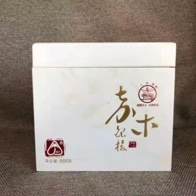 八角亭白茶,嘉木银梭100克/饼
