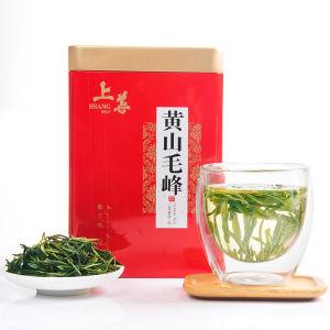 2021新茶黄山云雾茶绿茶黄山毛峰浓香型谷雨高山茶叶春茶罐装安徽