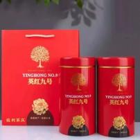 广东特产英德红茶 英红九号特级1959 正品茶叶浓香英九400克礼盒装