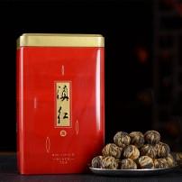 2021年云南凤庆 功夫滇红茶特级 手工龙珠茶叶散装 红绣球250克