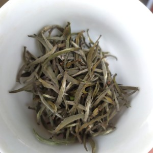 白茶2021春茶白毫银针散装明前白牡丹茶罐装高山荒野茶叶50克绿茶茶叶