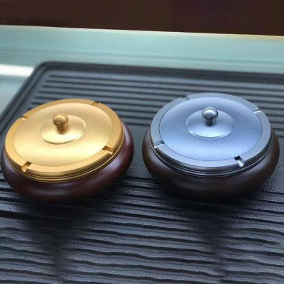 合金烟灰缸(量多可定制logo)