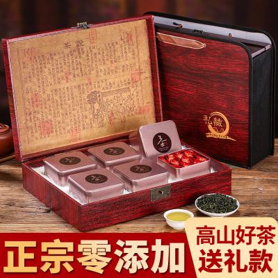 安溪铁观音茶叶节日送礼浓香型小泡袋装乌龙茶礼盒装500克