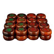 红酸枝中国象棋 红木木雕工艺品批发 家居休闲礼品摆件