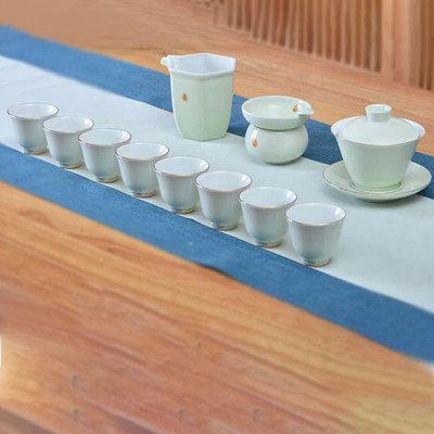 青瓷茶具套组