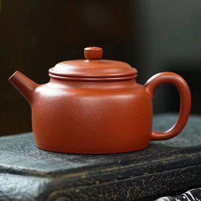 【德钟】 传统全手工制作 小煤窑顶级朱泥大红袍 容量180cc