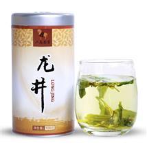 绿茶龙井 圆罐装100g 2016年新品品牌一级嫩叶绿茶直供