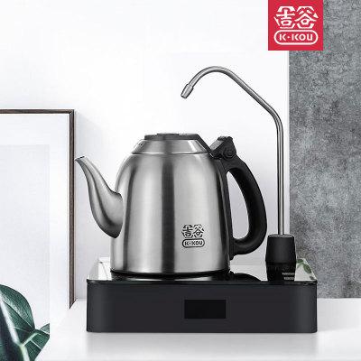 吉谷旗舰店TB0102自动上水电水壶电热煮茶壶恒温家用不锈钢烧水壶