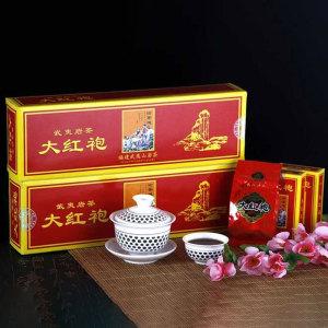 武夷山大红袍全手工茶叶正岩岩茶花香型烟盒装马头岩肉桂 500g/提