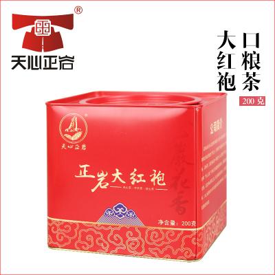 天心正岩 200g中火炭焙武夷山大红袍 正岩大红袍罐装礼品包装茶叶