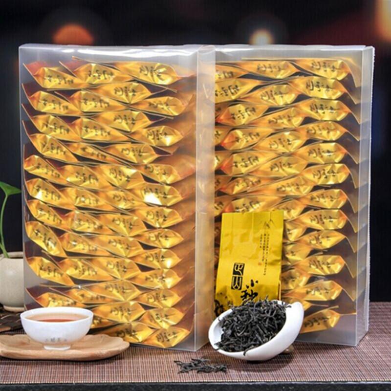 武夷山红茶养胃蜜香茶叶 特级正山小种散装批发PVC装500g