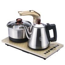 越一K33全智能自动上水电热炉变频恒温烧水泡茶炉304不锈钢电热壶