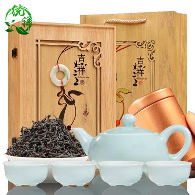 2021新茶正山小种红茶茶叶浓香型武夷桐木200克礼盒罐装送茶具