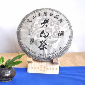 2014年福鼎白茶老寿眉饼饼茶