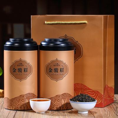 2021新茶金骏眉茶叶一级正宗红茶散装黄芽桐木关金俊眉礼盒装500g
