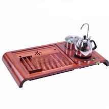 金灶R180A茶具电热壶实木自动上水抽水四合一茶盘泡茶机实体店